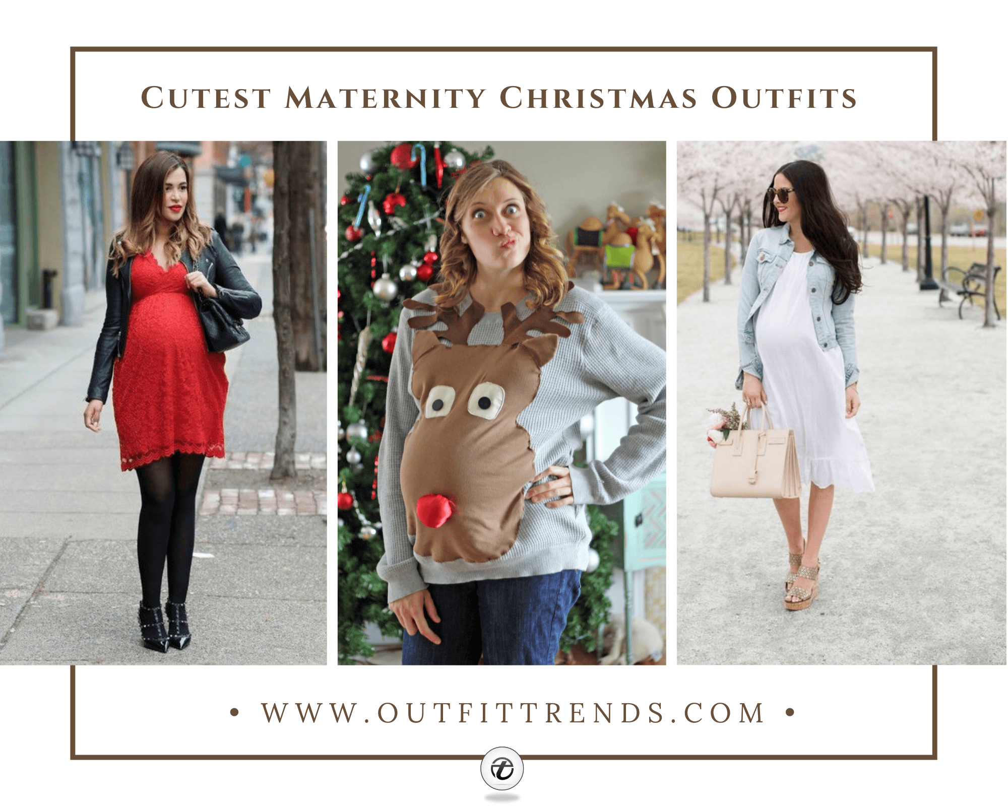 28 Best Maternity Christmas Outfits For 2021