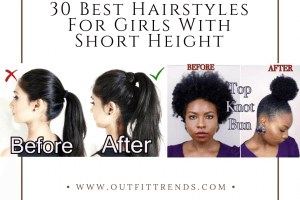 hairstyles for girls with short height