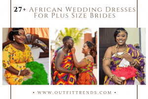 plus size african bridal outfits