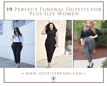 Plus size funeral outfit