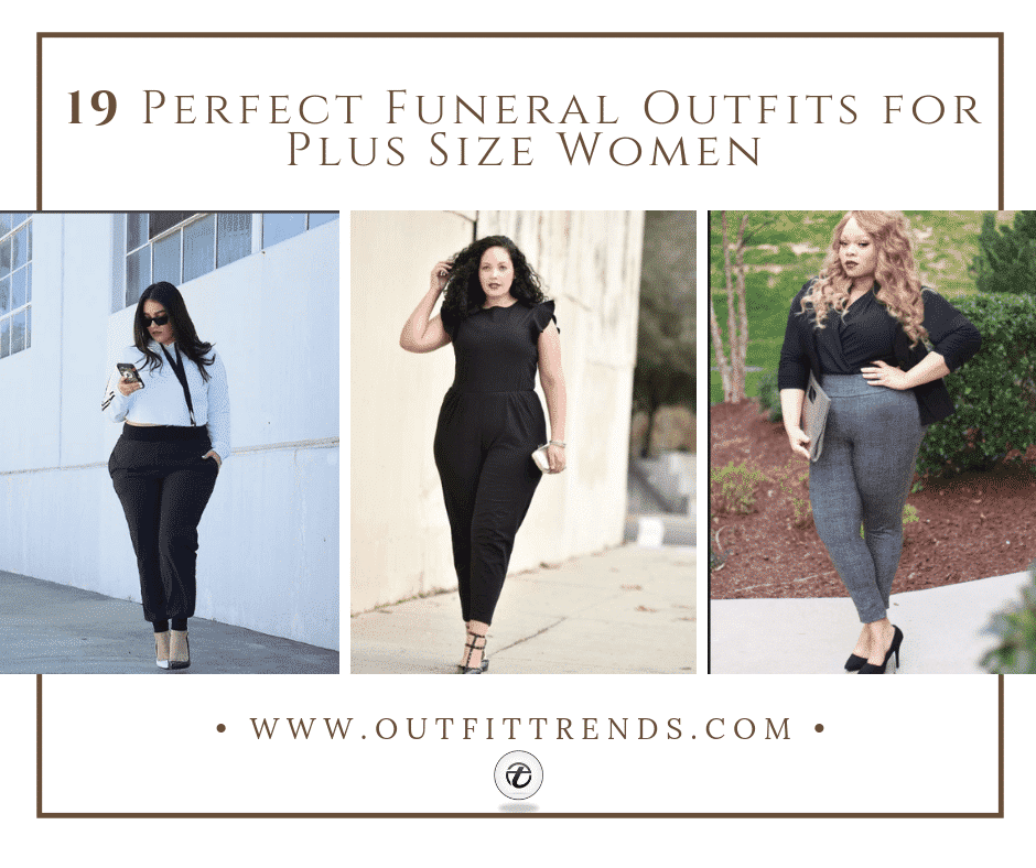19 Perfect Funeral Outfits for Plus Size Women