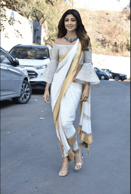 Saree Pant Outfit for Women