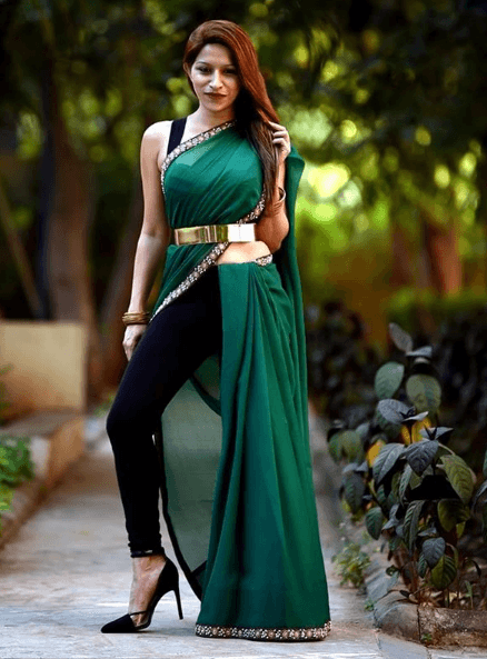 Pant Saree Style 25 Ideas On How To Wear Pants Style Saree