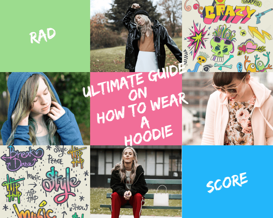 women hoodie outfits funky