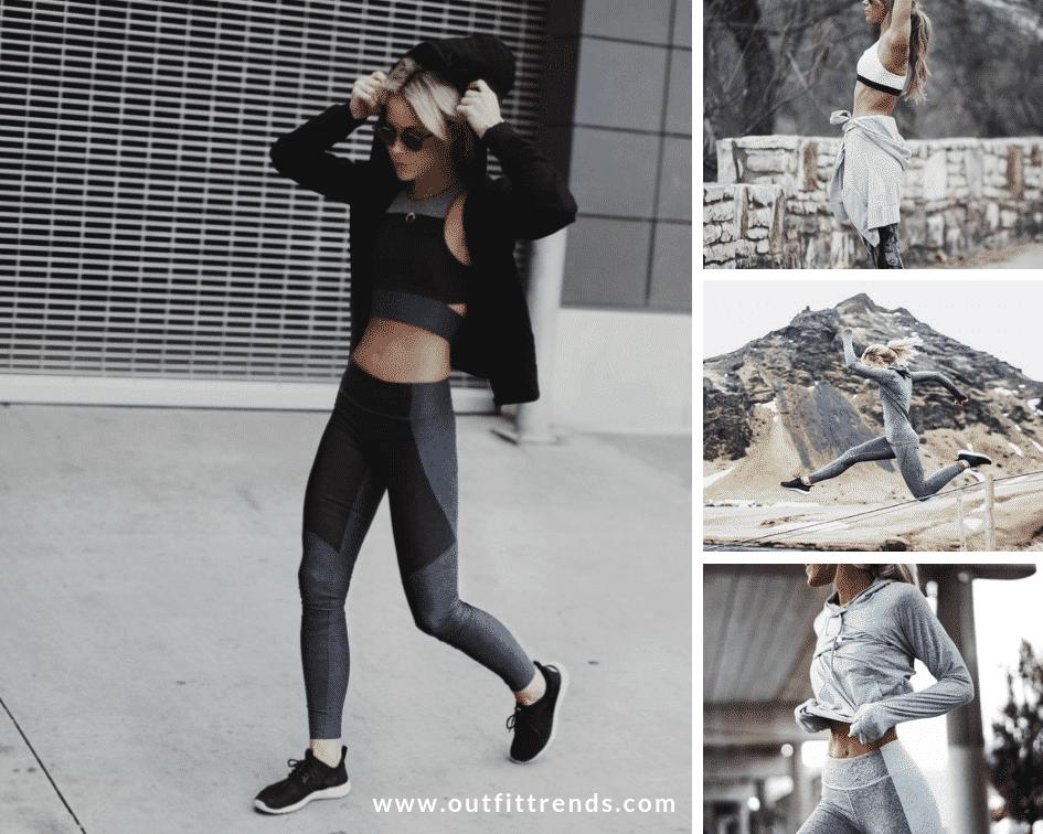 how to wear hoodie women