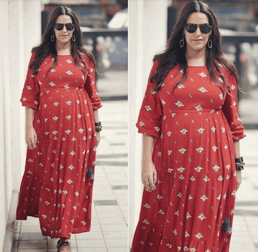bollywood maternity outfits
