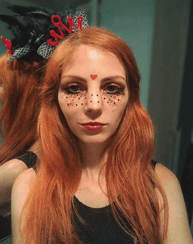 teenage girls halloween makeup