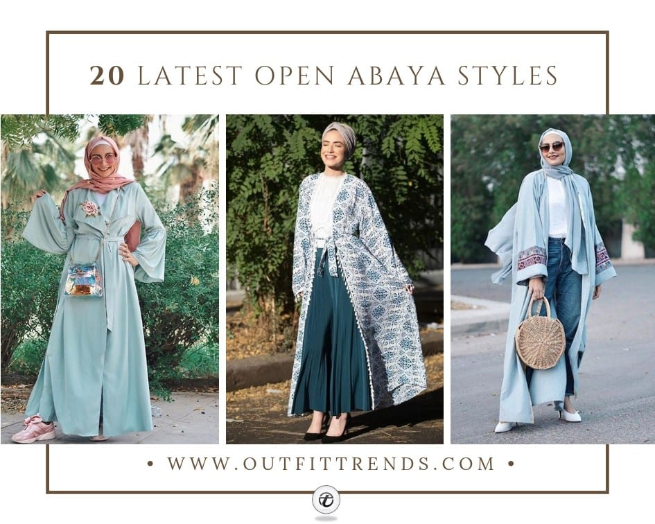 Open Abaya Designs 20 Latest Open Abaya Styles You Can Buy
