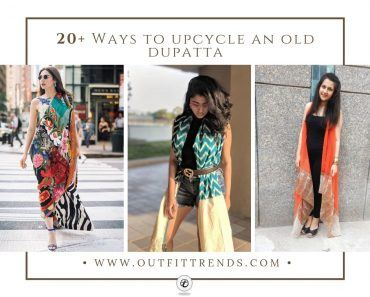 Unbelievable Ways To Style a Dupatta (25)