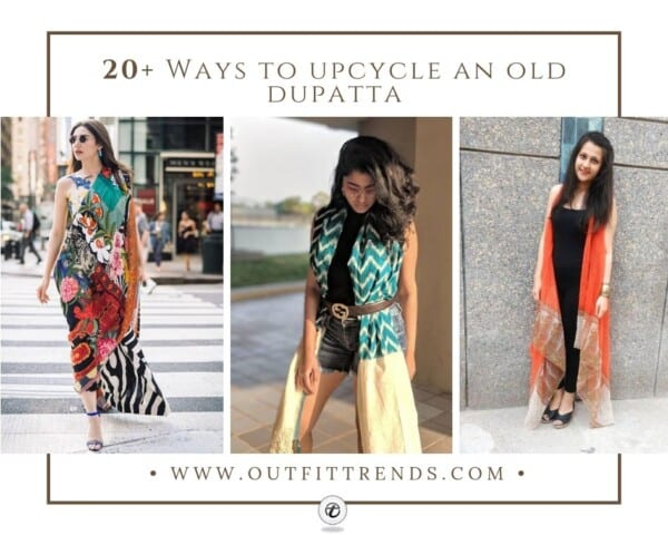 Unbelievable Ways To Style a Dupatta