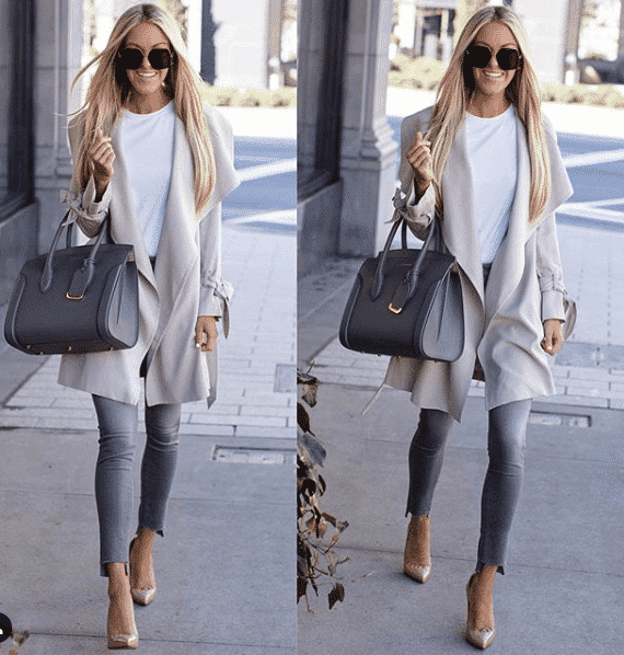 Minimal Heels Outfit for Women