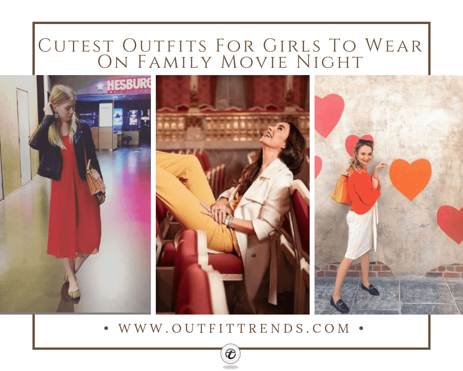 casual outfits for family movie night women