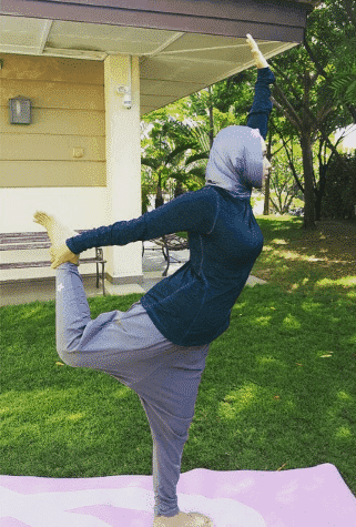 modest yoga outfits