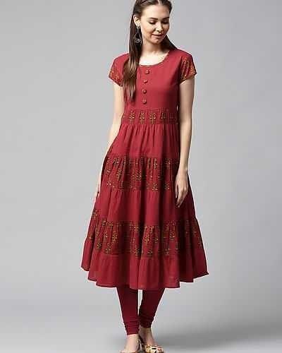 Shalwar Kameez Neck Designs for Girls (23)