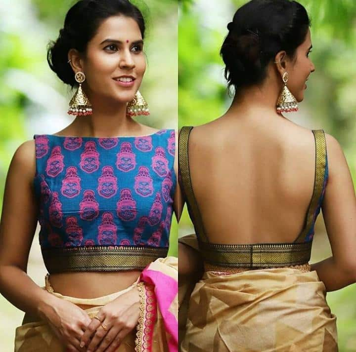 Silk Saree Blouse 20 Latest Blouse Designs For Silk Sarees