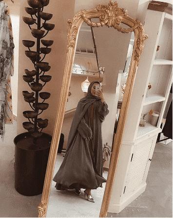 latest open abayas