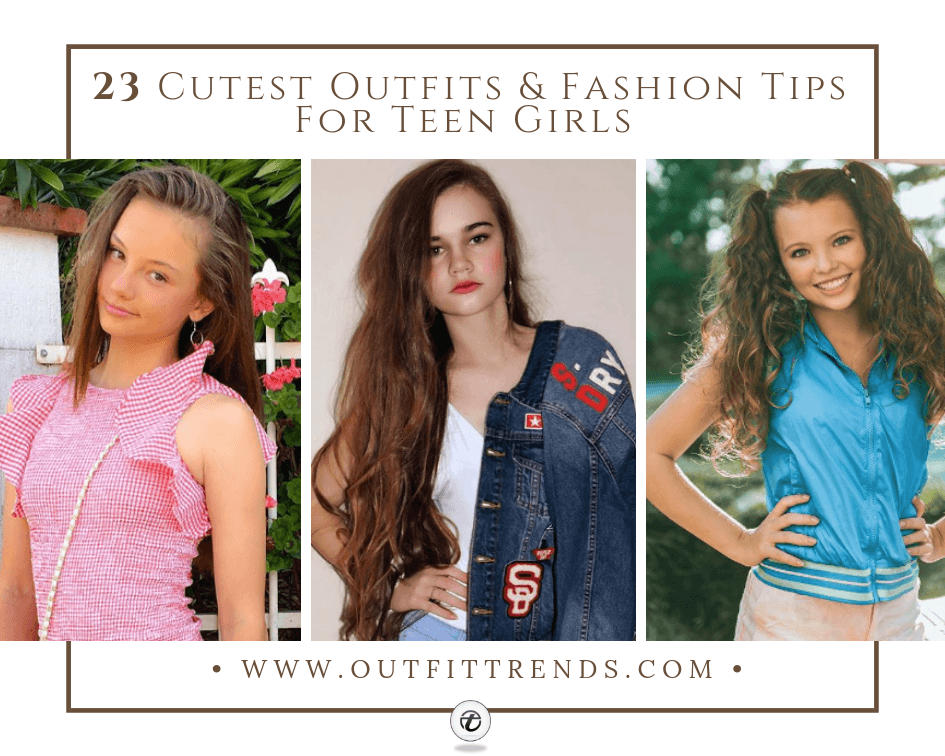ac5c5d4e7 Teenage Fashion 2019 - 18 Fabulous Outfits for Teenage Girls