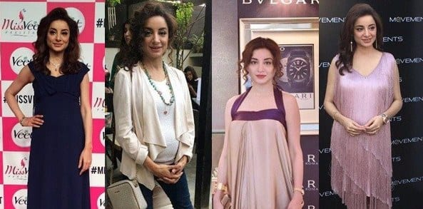 pregnancy outfits pakistan celebrities