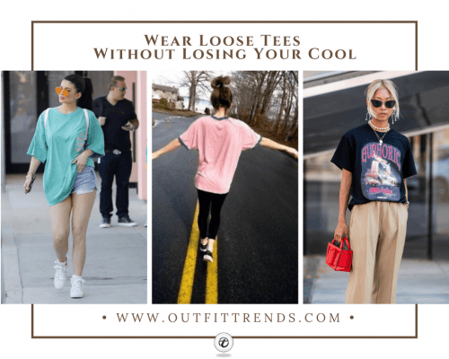 what to wear with oversized tees