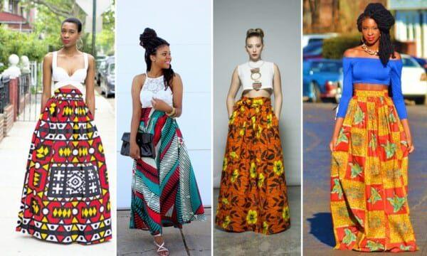 long kitenge dress