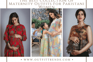pregnancy outfits pakistani women