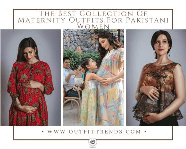 pregnancy outfits pakistani women