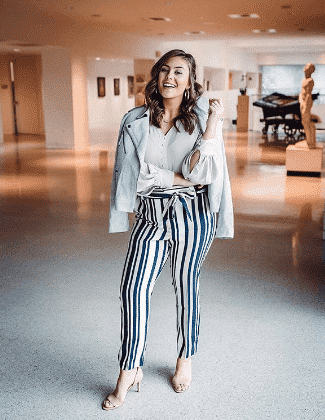 9520f4ddc4111 Striped Pant Outfits - 22 Best Ways To Wear Striped Pants