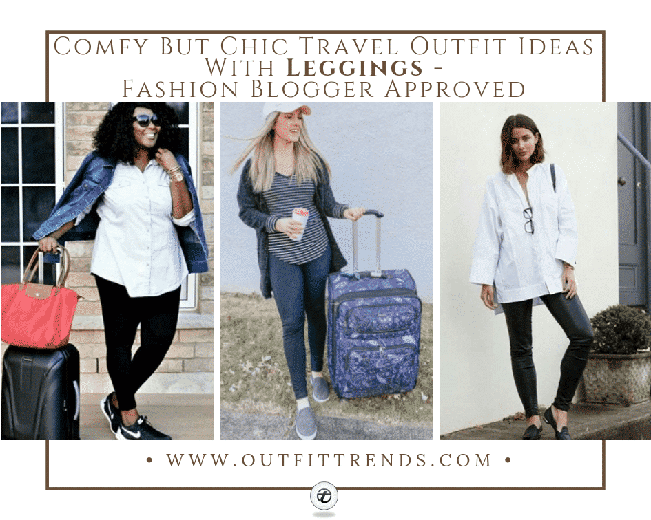 leggings outfits for traveling