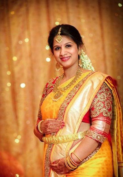 saree for pregnant women