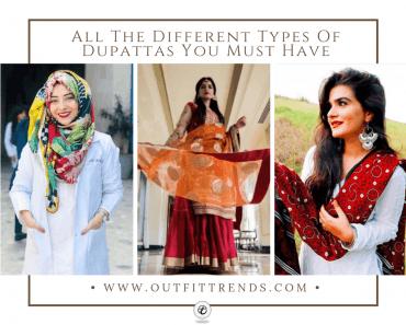 different types of dupattas