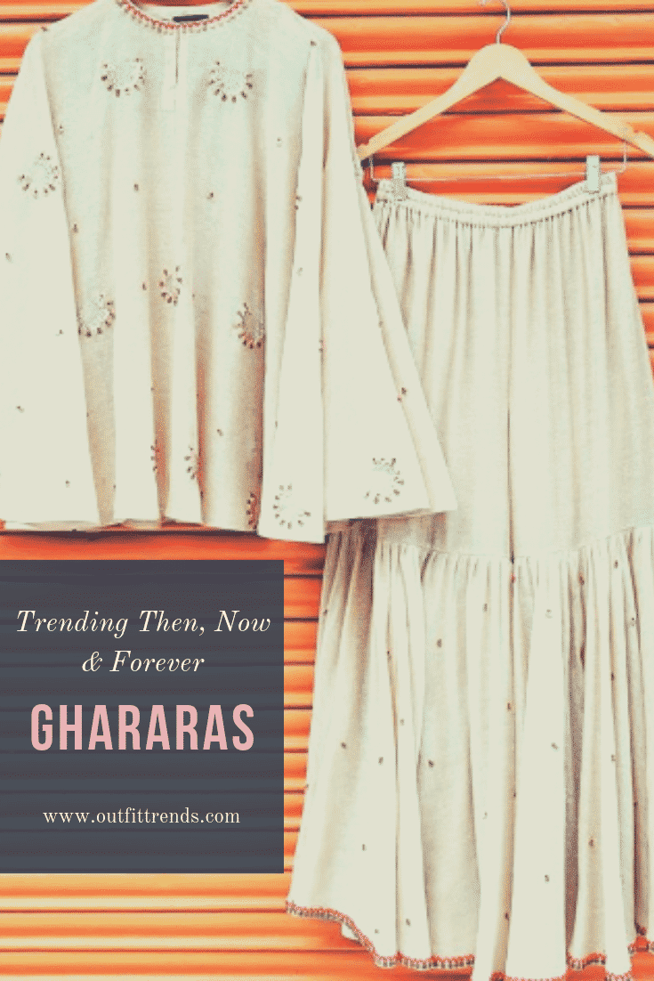 how to wear ghararas