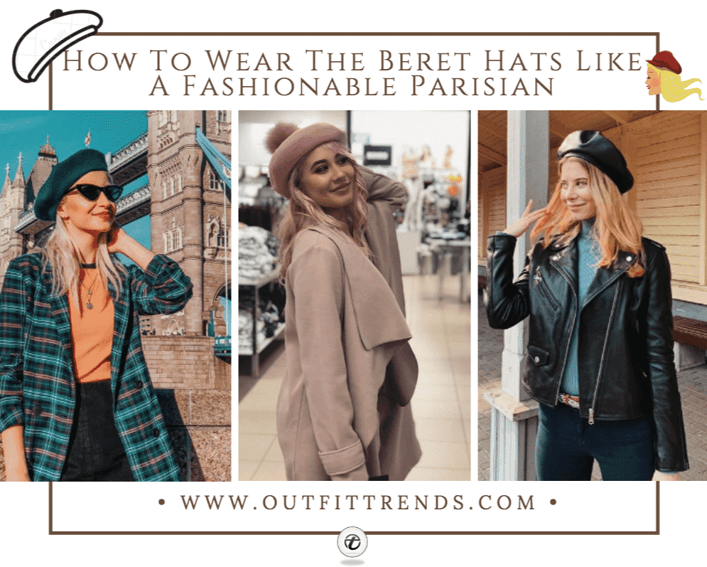 outfits with beret hats