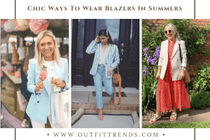 how to wear blazer in summers