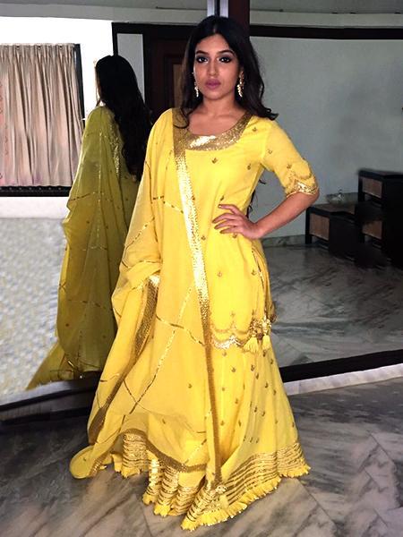 yellow sharara