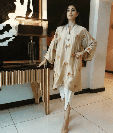 latest tulip shalwar outfits
