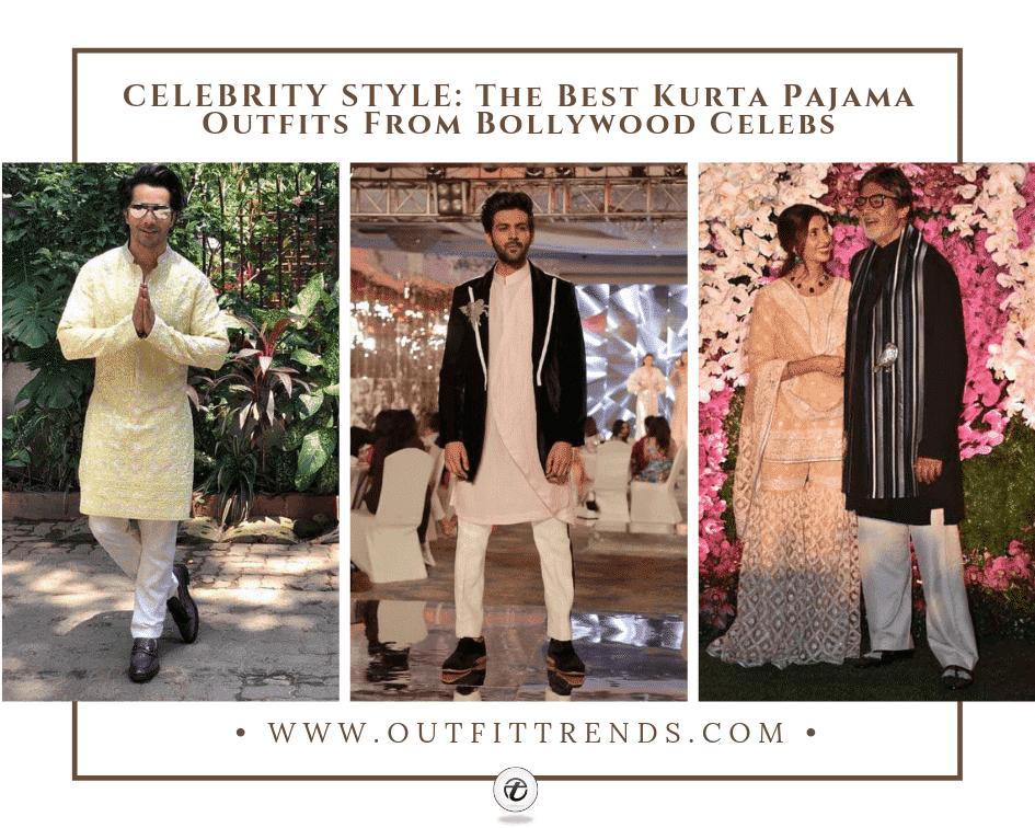 indian male celebrities kurta pajama