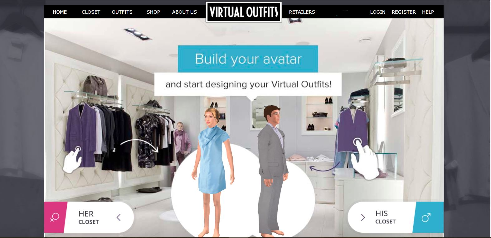 virtual outfits