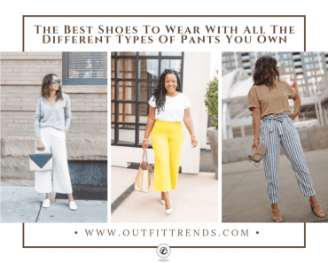 what shoes to wear with different types of pants