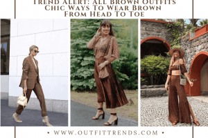 what colors to wear with brown clothes