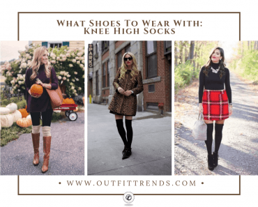 what shoe to wear with knee high socks