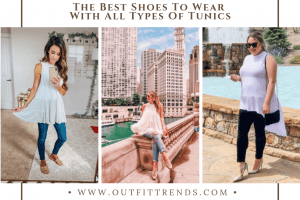 best women shoes to wear with tunics