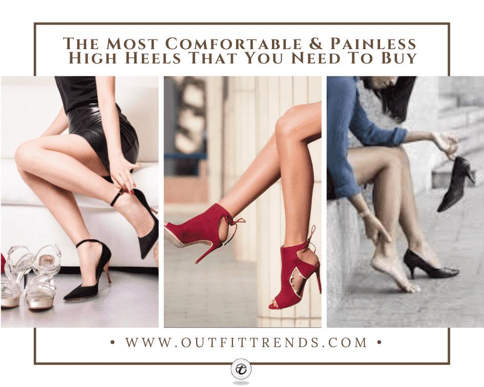 Most Comfortable Heels-The 7 Best High Heels in 2021