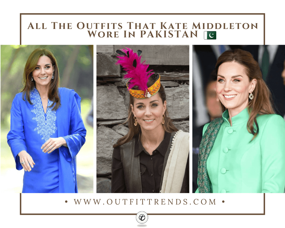 What Kate Middleton Wore In Pakistan? Kate's Outfit Details