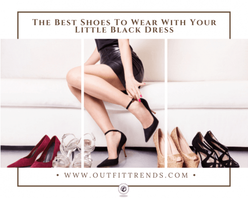 shoes to wear with black dress