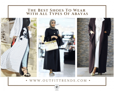best shoes to wear with abayas