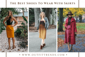what shoes to wear with skirts