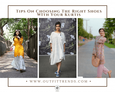 what shoes to wear with a kurta