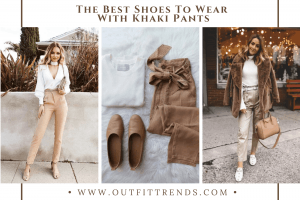 what shoes to wear with khaki pants
