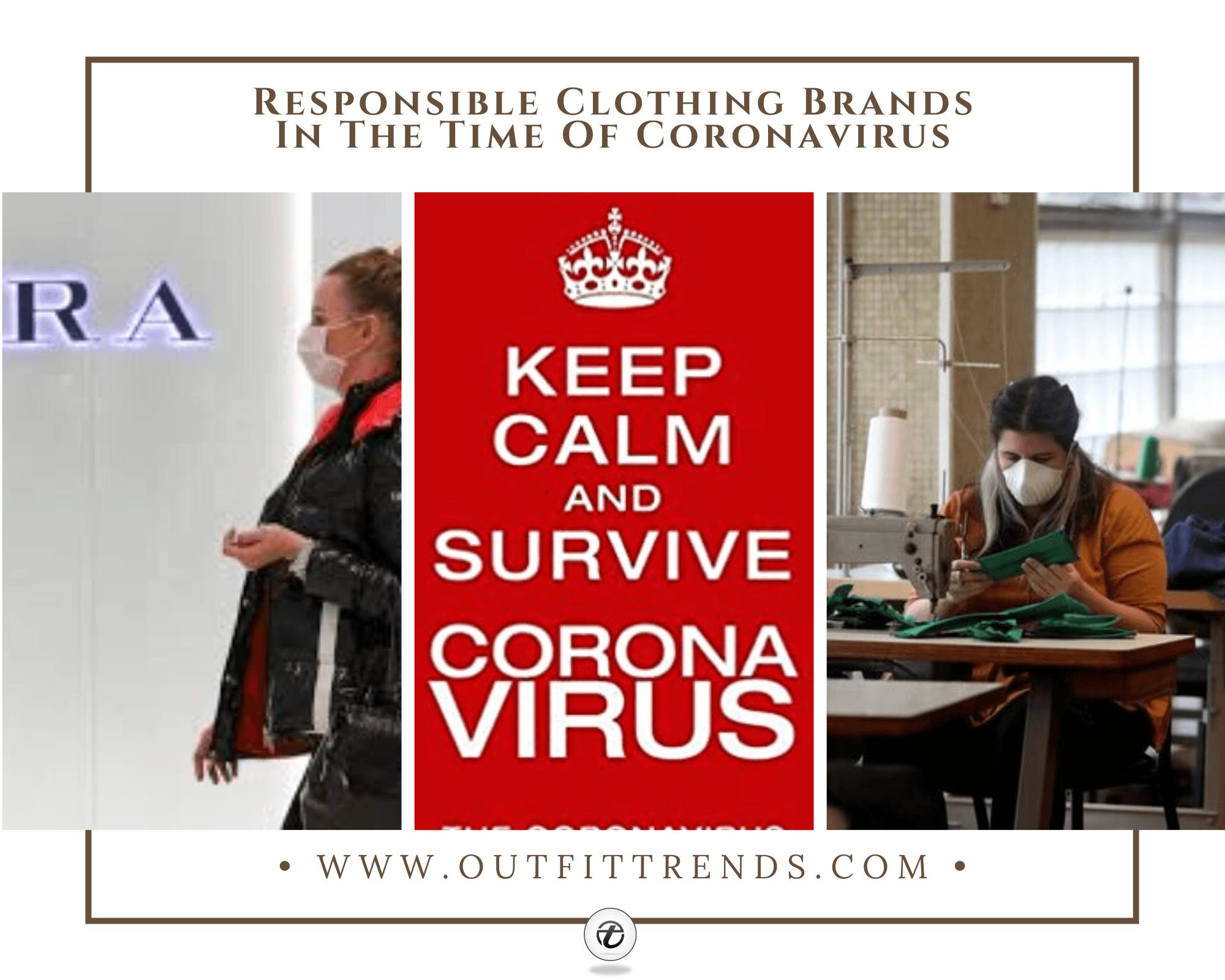 How 25 Top Fashion Brands Are Helping To Combat Coronavirus