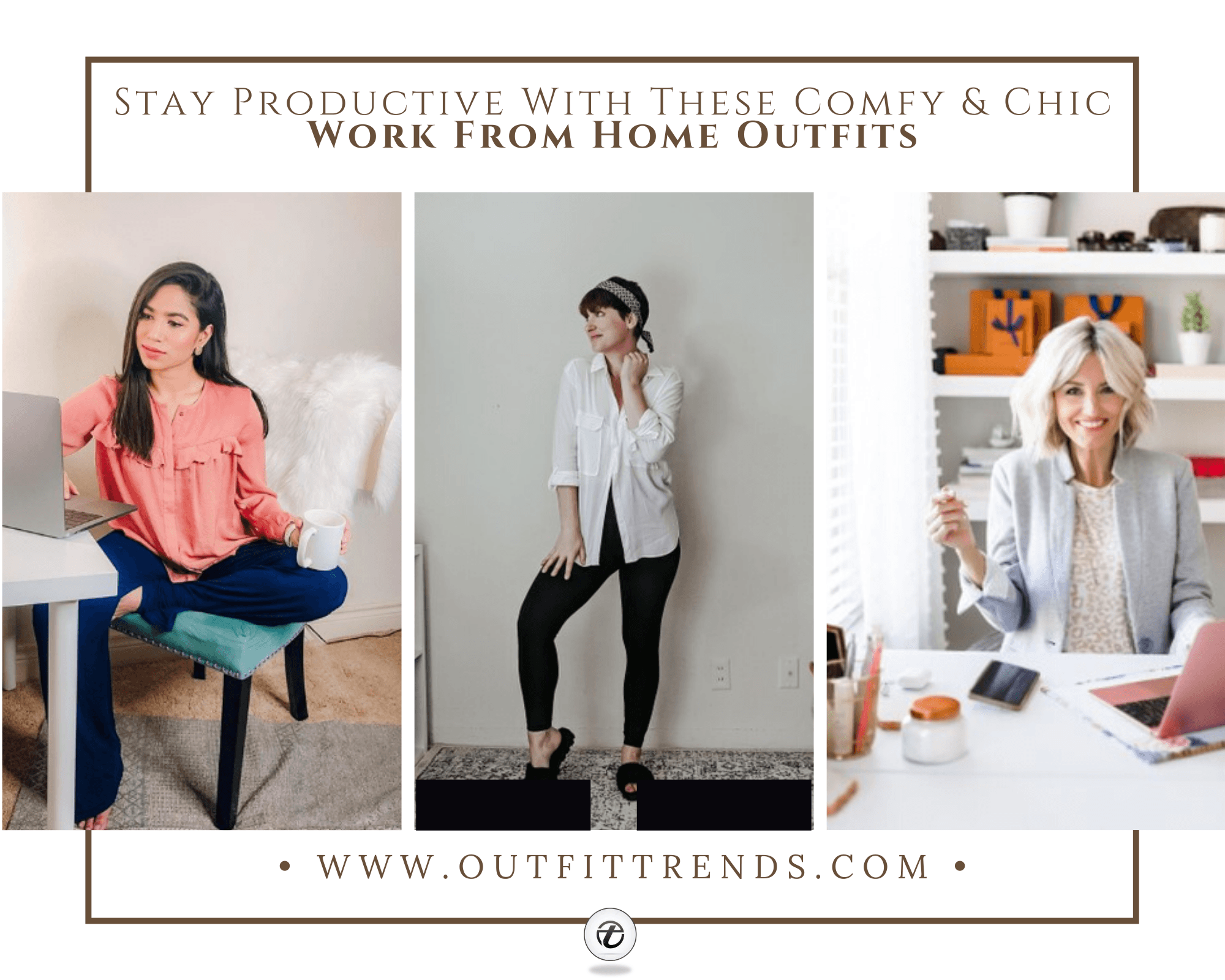 17 Work From Home Outfits For 2021 That Are Comfy Chic